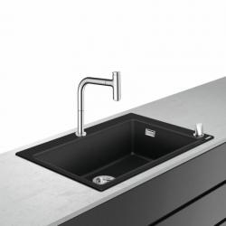 Virtuvinės plautuvės ir maišytuvo komplektas Hansgrohe  43218000