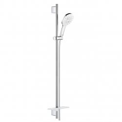 RAINSHOWER SMARTACTIVE 130, dušo komplektas su muiline, 90 cm, galvutė su balta spalva