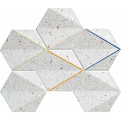 Dots grey 29,8x22,1  mozaika