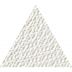 Scarlet white tri STR 16x13,9  sienų plytelė