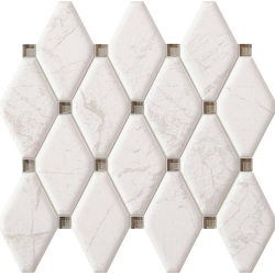 Graniti white 29,8x27  mozaika