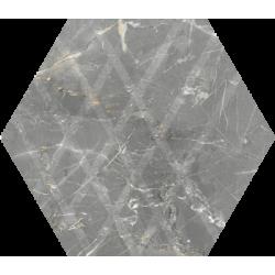 Marvelstone Light Grey Heksagon Gres Szkl. Mat.19.8 x 17.1 universali plytelė