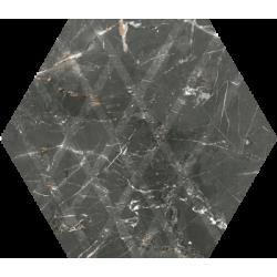 Marvelstone Grey Heksagon Gres Szkl. Mat.19.8 x 17.1 universali plytelė