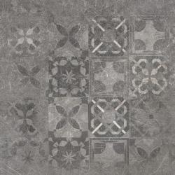 Softcement graphite patchwork poler 59,7X59,7 universali plytelė