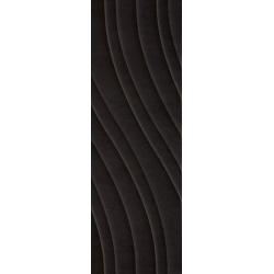 Glitter Mood Nero Ściana C Struktura Rekt.29.8 x 89.8  sienų plytelė