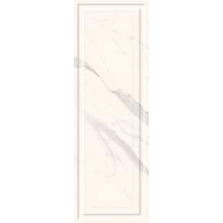 Morning Bianco Struktura Rekt. Połysk 25 x 75  sienų plytelė