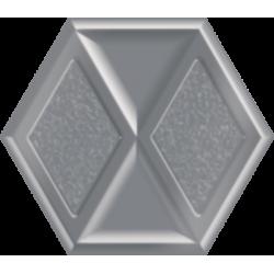 Morning Silver Heksagon Inserto Połysk  19.8 x 17.1 dekoratyvinė plytelė