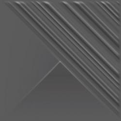 Ray Grafit Ściana Struktura Mat  19.8 x 19.8  sienų plytelė