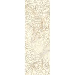 Serene Bianco Inserto  25x75  dekoratyvinė plytelė