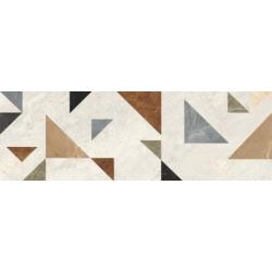 Supreme Grys Dekor Mix 25x75  sienų plytelė