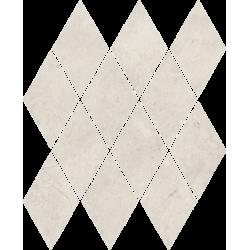 Afternoon Silver Mozaika Prasowana Romb Pillow 20.6 x 23.7 mozaika