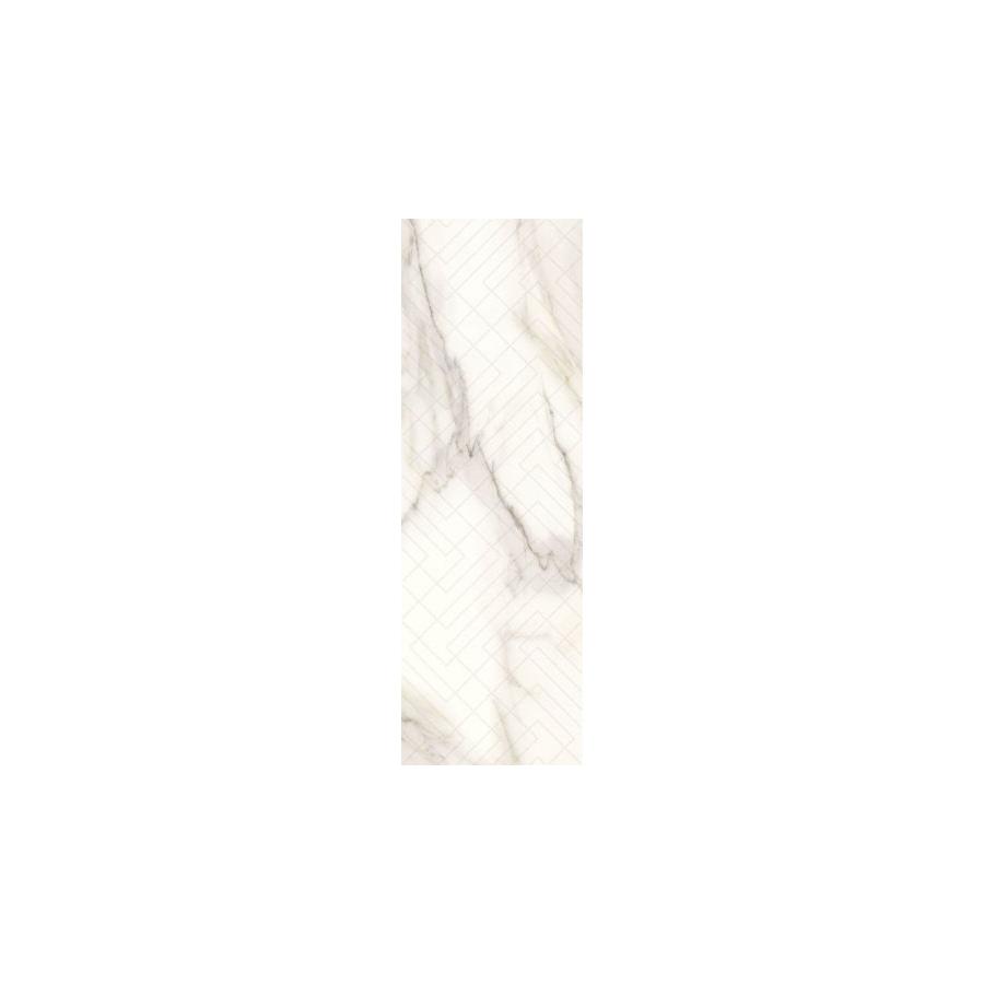 Calacatta Sparkle Gold Inserto Połysk 29.8 x 89.8 dekoratyvinė plytelė
