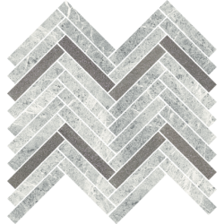 Stone Matter Grys Mozaika Cięta Połysk  28.1 x 30.1 mozaika