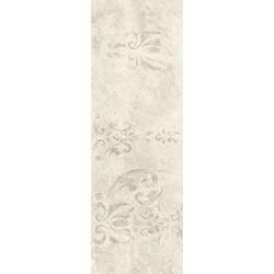 Silence Silver Ściana Carpet Dekor Rekt. Połysk 25x75 sienų plytelė