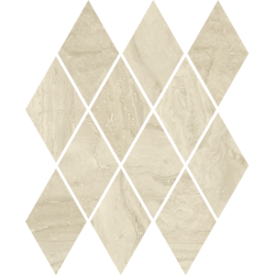 Silence Beige Mozaika Prasowana Romb Pillow Mat 20,6 x 23,7  mozaika