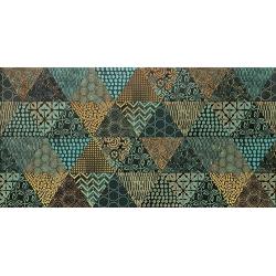 Margot green geo 30,8x60,8 dekoratyvinė plytelė