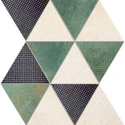 Margot green 32,8x25,8 mozaika