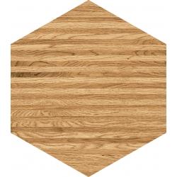 Flare wood hex 12,5x11  sienų plytelė
