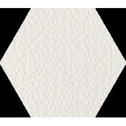 Noisy Whisper White Struktura Ściana 17.1 x 19.8 sienų plytelė