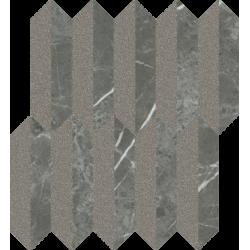 Noisy Whisper Graphite Mozaika Cięta Mix Mat 29.8 x 27.4  mozaika