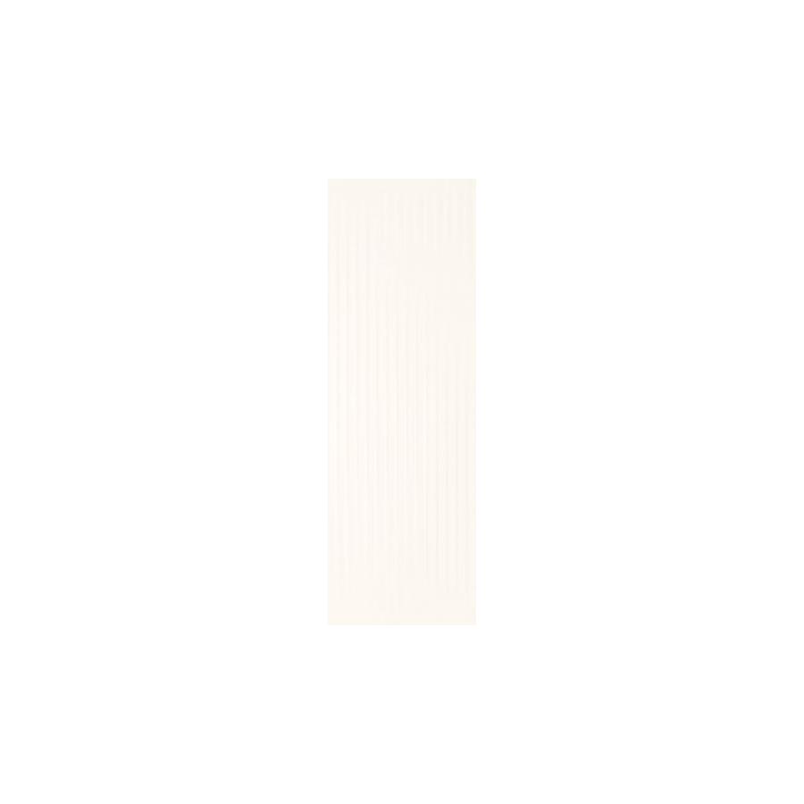 Cold Princess White Ściana Struktura Rekt. 39.8 x 119.8  sienų plytelė