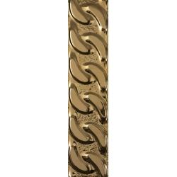 Fashion Spirit Copper Listwa Struktura Połysk 9 x 39.8  dekoratyvinė plytelė