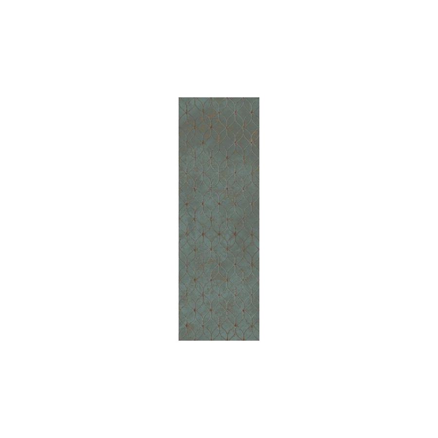 Unique Lady Green Ściana Rekt. Dekor 39.8 x 119.8 sienų plytelė