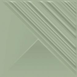 Feelings Green Ściana Struktura Połysk  19,8x19,8 sienų plytelė