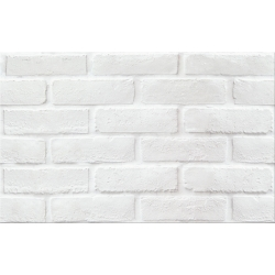 PS213 white structure mat 25x40 sienų plytelė
