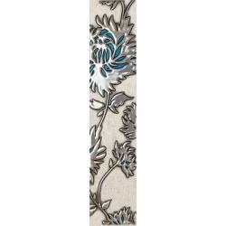 Gris turkus Flower 7,4x36 juosta