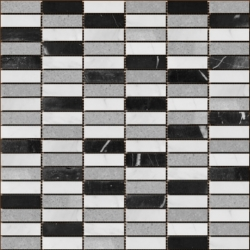 Stone mosaic 8 mm No.26 A-MST08-XX-026 30x30 Stone