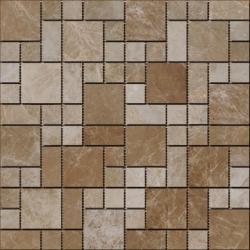 Stone mosaic 8 mm No.28 A-MST08-XX-028 30x30 Stone