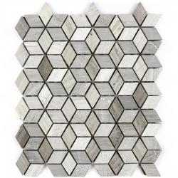 Stone mosaic 8 mm No.33 A-MST08-XX-033 30x26,8 Stone
