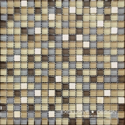 Glass & Stone mosaic 8 mm No.4 A-MMX08-XX-004 30x30