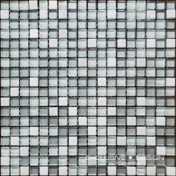 Glass & Stone mosaic 8 mm No.8 A-MMX08-XX-008 30x30