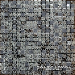 Glass & Stone mosaic 8 mm No.11 A-MMX08-XX-011 30x30