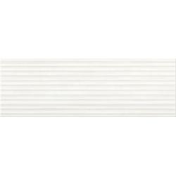 Stripes white struktura 25x75 sienų plytelė